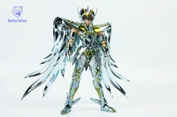 in stock Great Toys Pegasus seiya V4 GT EX god cloth EX metal armor bronze Saint Seiya action figure toy сумка дорожная antan собачки цвет темно синий 2 4m