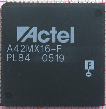 The original 2PCS 100%NEW A42MX16-FPL84 PLCC84  2pcs 100
