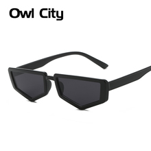 Owl City Vintage Sunglasses Women Polygon Ladies Sunglass Re