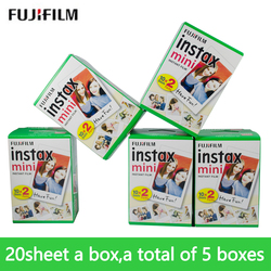 fujifilm Instant Camera 100 sheet mini9 white Edge 3 Inch for Instant Camera 7 9 25 50s 70 90 sp-1 sp-2 Camera Photo paper film