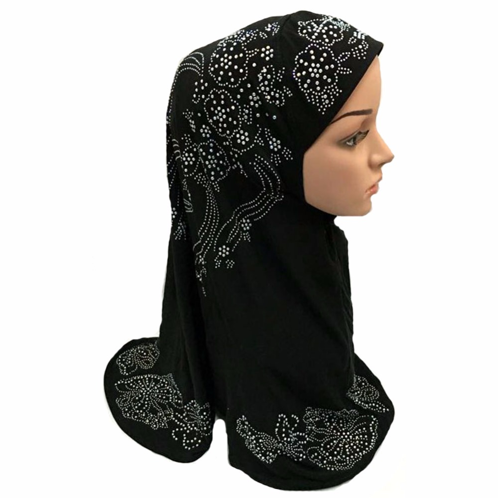 Deluxe Muslim Islamic Hijab Scarf Woman Amira Cap Fashion Beautiful ... 1c6942b9b094