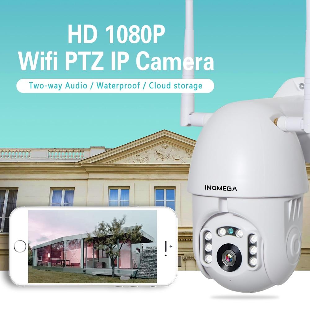 HTB15OJ1boY1gK0jSZFCq6AwqXXah INQMEGA 1080P IP Camera WiFi Wireless Auto tracking PTZ Speed Dome Camera Outdoor CCTV Security Surveillance Waterproof Camera