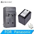 PALO 1 шт. 3900 мАч VW-VBT380 VW-VBT190 аккумулятор + зарядное устройство для Panasonic HC-V720  HC-V727  HC-V730  HC-V750  HC-V757  HC-V760  HC-V770