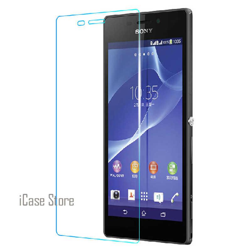 2.5D 0.26 millimetri 9H Anteriore Temperato Vetro temperato di Cristallo Del Telefono Delle Cellule Per Sony Xperia Experia Z1 Compatto Mini D 5503 D5503 M51W