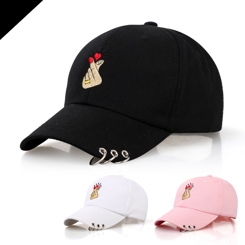 a9dfa4e80f9 Embroidery rose 100% Cotton hat black cap Blank snapback hip hop cap  designer hats Sun Truck Hat gorras men and women WS0091-in Baseball Caps  from Men s ...