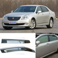 4pcs Blade Side Windows Deflectors Door Sun Visor Shield For Toyota Crown 2005-2009