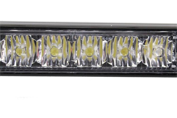 72w LED WORK LIGHT BAR BEACON TOW TRUCK EMERGENCY WARNING STROBE LIGHTS AMBER