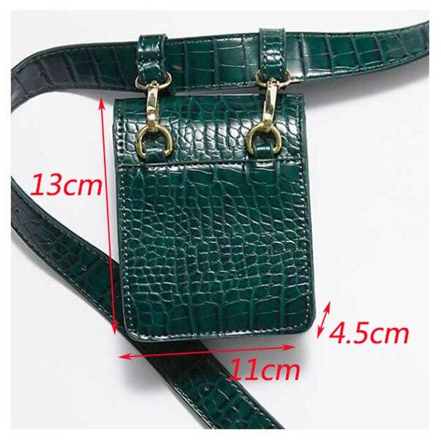 Mihaivina Alligator Mini Waist Bag 4