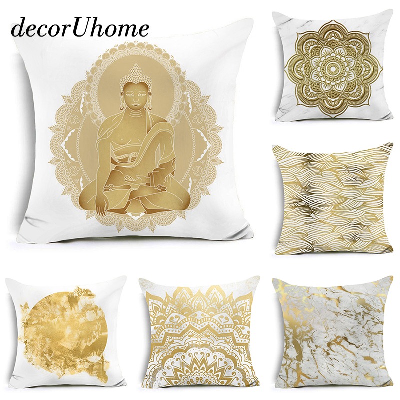 gold decorative pillows - Gold Decorative Pillows