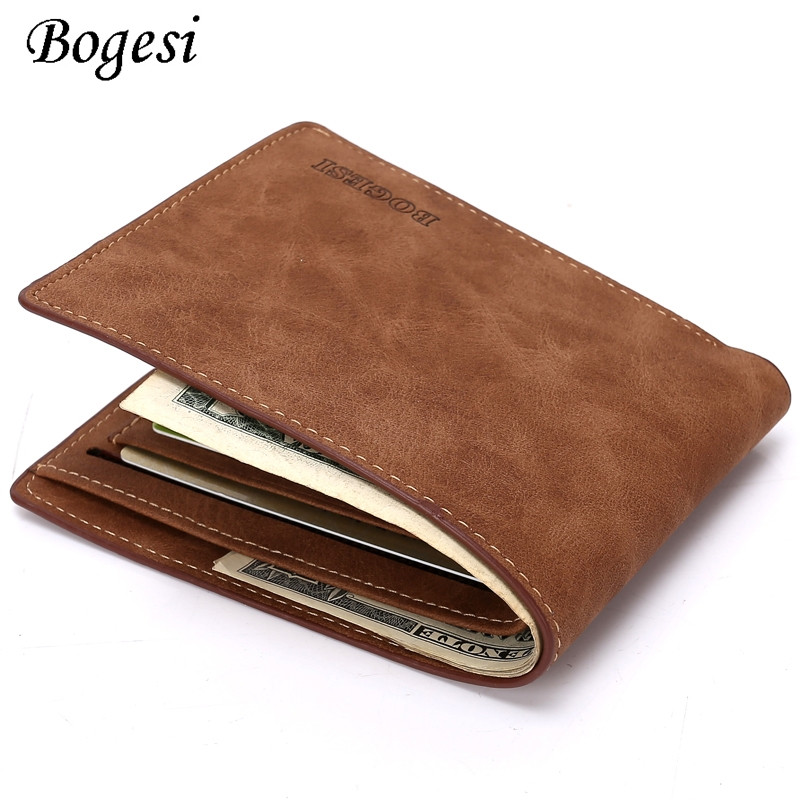 New Design Dollar Price Top Male Wallet Purse Pu Leather Vintage Design Purse Men Brand Famous Card holder Mens Wallet K030 hot sale 2015 harrms famous brand men s leather wallet with credit card holder in dollar price and free shipping