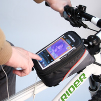 Universal Waterproof Phone Bag For Mountain Bike Touchscreen Bicycle Accessories Phone Bags For IPhone Samsung Xiaomi