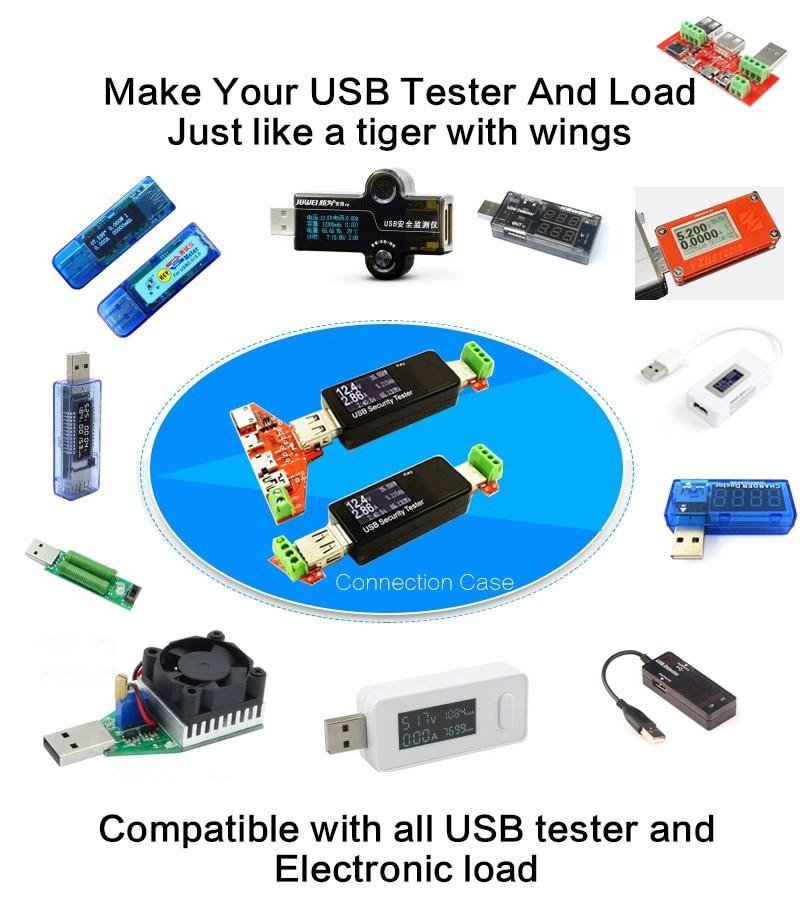 ATORCH USB tester miernik amperomierz pojemność monitora Części - Przyrządy pomiarowe - Zdjęcie 2
