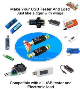 Image 2 - ATORCH USB тестер, измеритель мощности амперметра, измерительные приборы, детали Lightning Type c Micro USB кабель адаптер конвертер плата