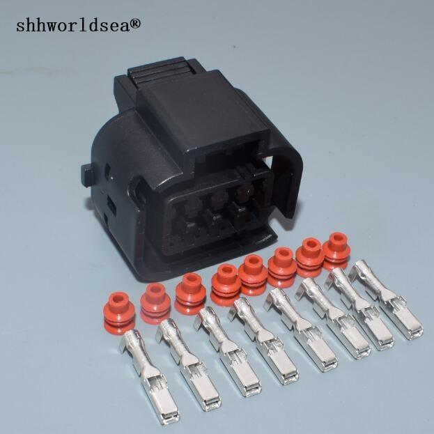 shhworldsea 8 pin 2.2mm car Headlight Socket Waterproof Plug ... on automotive wire gauge, automotive wire cover, automotive wire assortment, automotive wire clamp, automotive wire connector, automotive wire terminals,