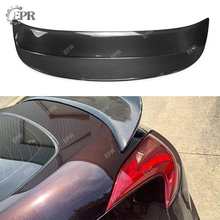 Carbon Wing Lip For Nissan 370Z Z34(2009+) AJT3 Style Fiber Car StylingTrim Tuning Part Racing Rear Spoiler