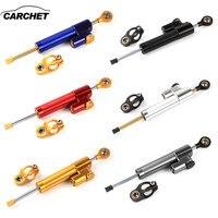CARCHET Universal Aluminum Motorcycle Damper Steering Stabilize Safety Control For Kawasaki Suzuki Yamaha Honda Ducati