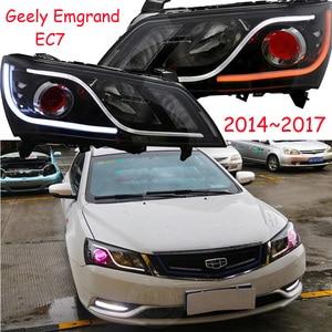 Image 5 - Rhd lhd geely emgrand ec7 farol, 2 pçs 2014 2015 2016 2017, acessórios do carro, emgrand ec7 luz de nevoeiro, ec8, emgrand ec7 lâmpada frontal