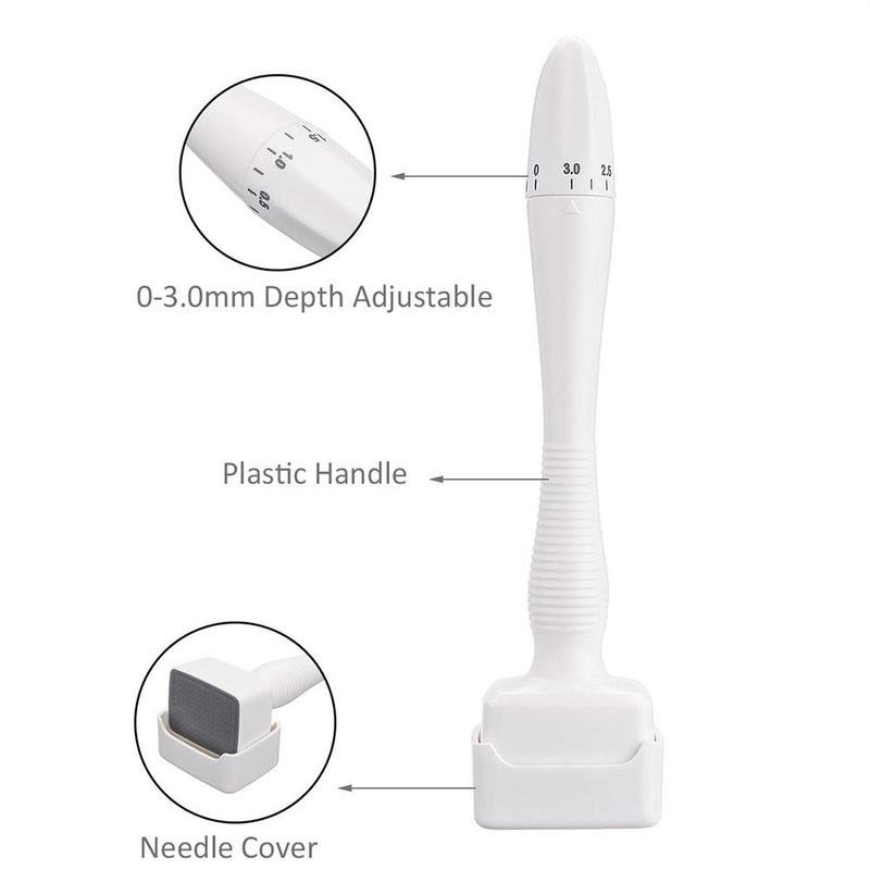 Dr.pen DRS 0-0.3MM Adjustable 140 Pins Stamp Microneedle Derma Roller Anti-Aging Therapy For Skin Care Machine