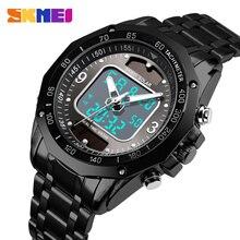 2019 SKMEI Luxury Men Quartz Watch Men Dual Time Display Alarm Clock Waterproof Wristwatch Sport Watches Relogio Masculino 1493 цена