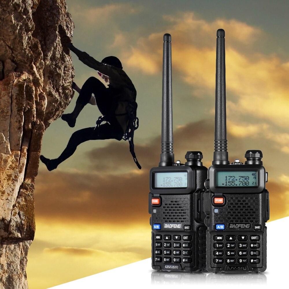 128ch Dual Band Talkie Walkie Transceiver Two Way Radio Portable Handheld Wasserdichte Sprech Fern 1800 Mah Batterie ZuverläSsige Leistung