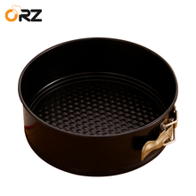 ORZ 8 Inch Springform Cake Pan Leakproof Nonstick Baking Dishes Cake Molds Round Shape Cheesecake Pans Kitchen DIY Bakeware