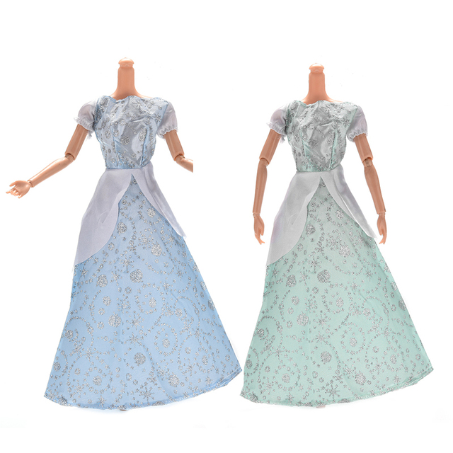 Pizies 1Pc Princess Doll Dress Similar Fairy Tale Cinderella Wedding ...