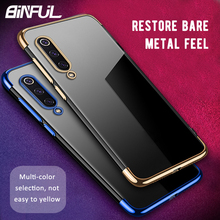 For Xiaomi Mi 9 Case Cover Transparent TPU Soft Silicone Clear Back Cover For Xiaomi Xiao Mi9 SE Mi8 8 Pro Case Phone Coque стоимость