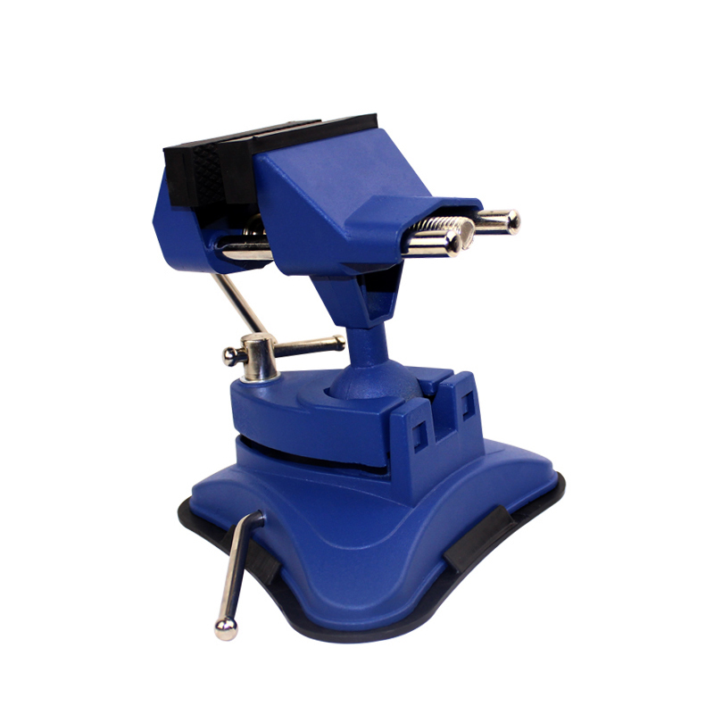 360 degree universal vise Aluminum woodworking vise with Adsorption chassis Y adsorption mechanism in membranes