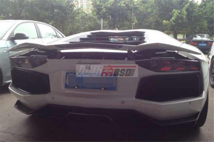 Carbon Fiber Rear Wing For 12 14 Lamborghini Aventador Lp700 Oem