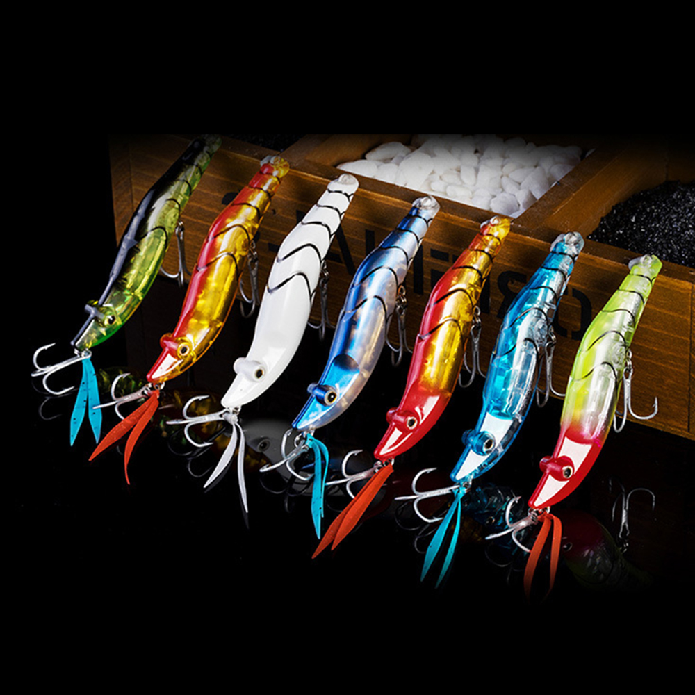 Shrimp Squid Sea for Fishing Spoon Silicone Bait Wobbler Jigging Lure Minnow Tackle Whopper Plopper Lead Spinner Bait D25 in Fishing Lures from Sports Entertainment