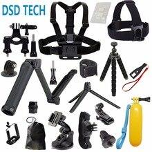 DSD TECH pour GoPro 3 Façon grip vaniteux poitrine harnais accessoires pour aller pro hero 5 4 3 2 session sjcam m20 xiaomi yi 2 4 k 08C
