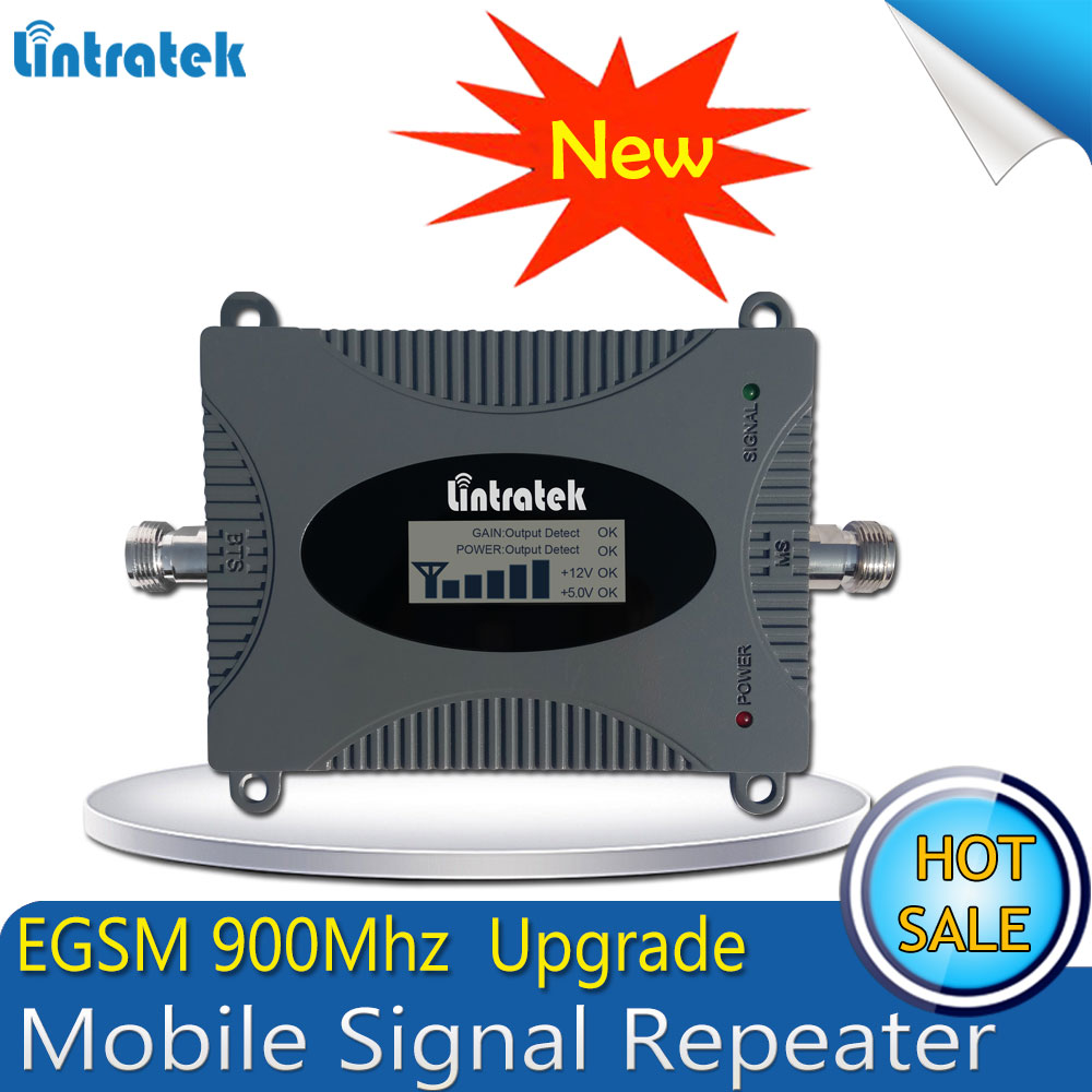 Big Sale! EGSM 900MHz Mobile Signal Booster (Band 8) Gain 65dB LTE 900 E-GSM Cellular Signal Repeater/Amplifier With LCD display