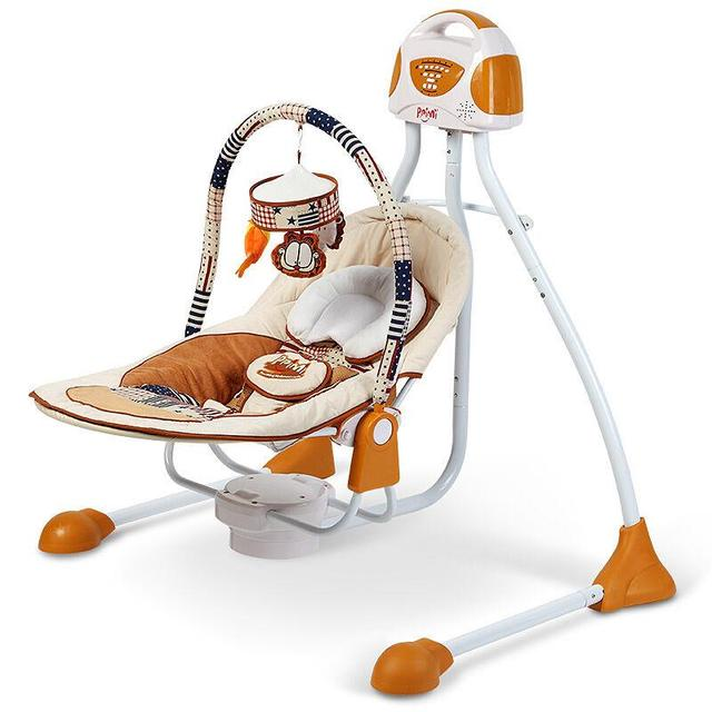 5f07e3076b8b Primi Luxury baby cradle swing electric baby rocking chair chaise ...
