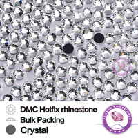 Hot Fix Rhinestone Size SS6 Up To SS50 Crystal Bulking Packing Use For Garments Bags And