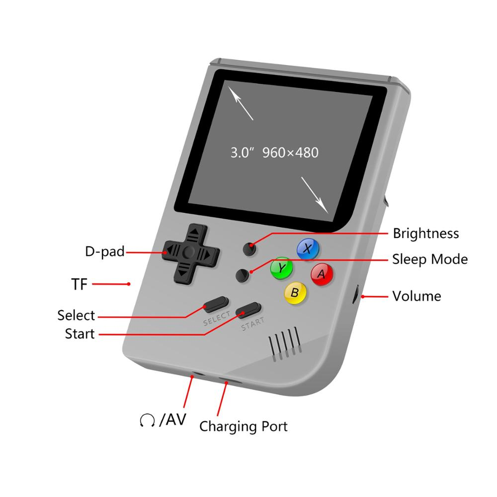 Retro Game 300 RG300 16G internal 3inch portable video game console