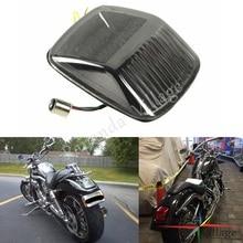 Мотоциклы дым светодиодный задний фонарь светильник задние тормоза светильник поворотники мигалка для Harley двойка со всего мира V-ROD 2002-2011