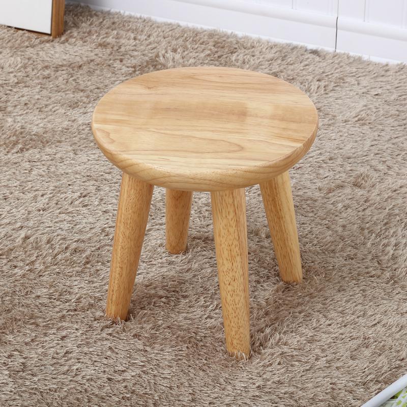 Staygold Chairs Solid Wood Stool Oak