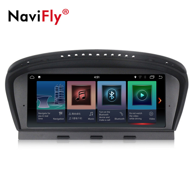 New arrival! ID7 2G+32G Android 7.1 car radio multimedia player for BMW 5 Series E60 E61 E63 E64 E90 E91 E92 CCC CIC system
