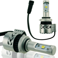 1Pair 9006 CREE Chip XHP50 LED Car Headlight Bulb 72W 12000LM Replacement Car Headlight Conversion Kit