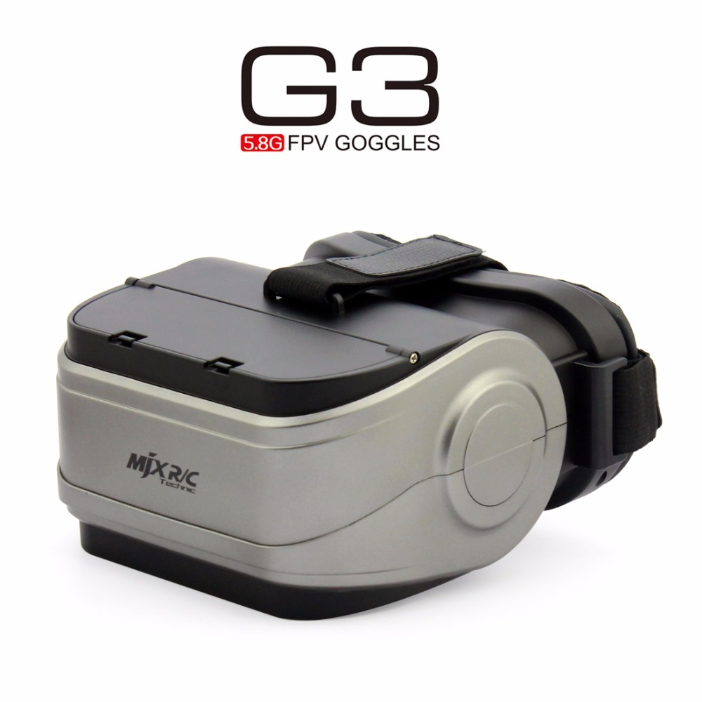 MJX G3 5.8G FPV Goggles VR Glasses Video for MJX D43 FPV Receiver Monitor Bugs 6 Bugs 8 B6 B8 RC Racer Drone Quadcopter leather