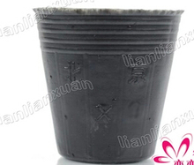 A lot(100 pcs)Nursery pot/Plastic nutrition cup/13*12cm/plastic nursery box