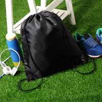 Waterproof Thickening Adjustable Drawstring Backpack Gym Storage Backpack SWIM SCHOOL DANCE SHOE BACKPACK
