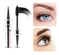 Hername 1 Pcs Multifunctional Mascara Waterproof Liquid Fiber Long Black Eye Lashes Eyelash Curling Mascara Brush