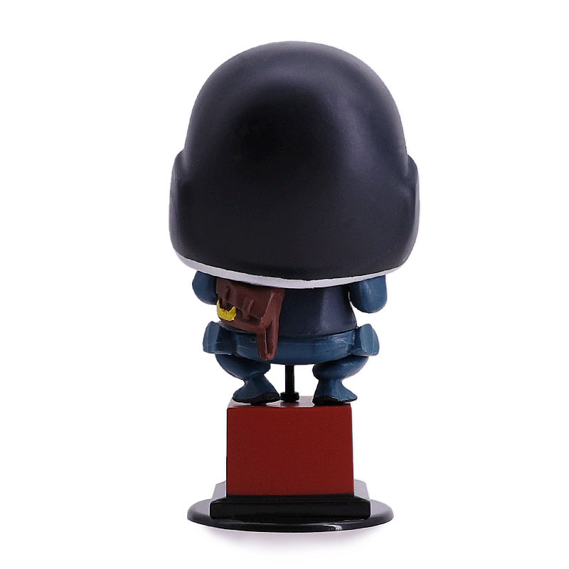 Image 3 - Rainbow Six Siege 10cm figure toys Thermite Action Figure Hot Toys Desktop Decor christmas gift-in Action & Toy Figures from Toys & Hobbies