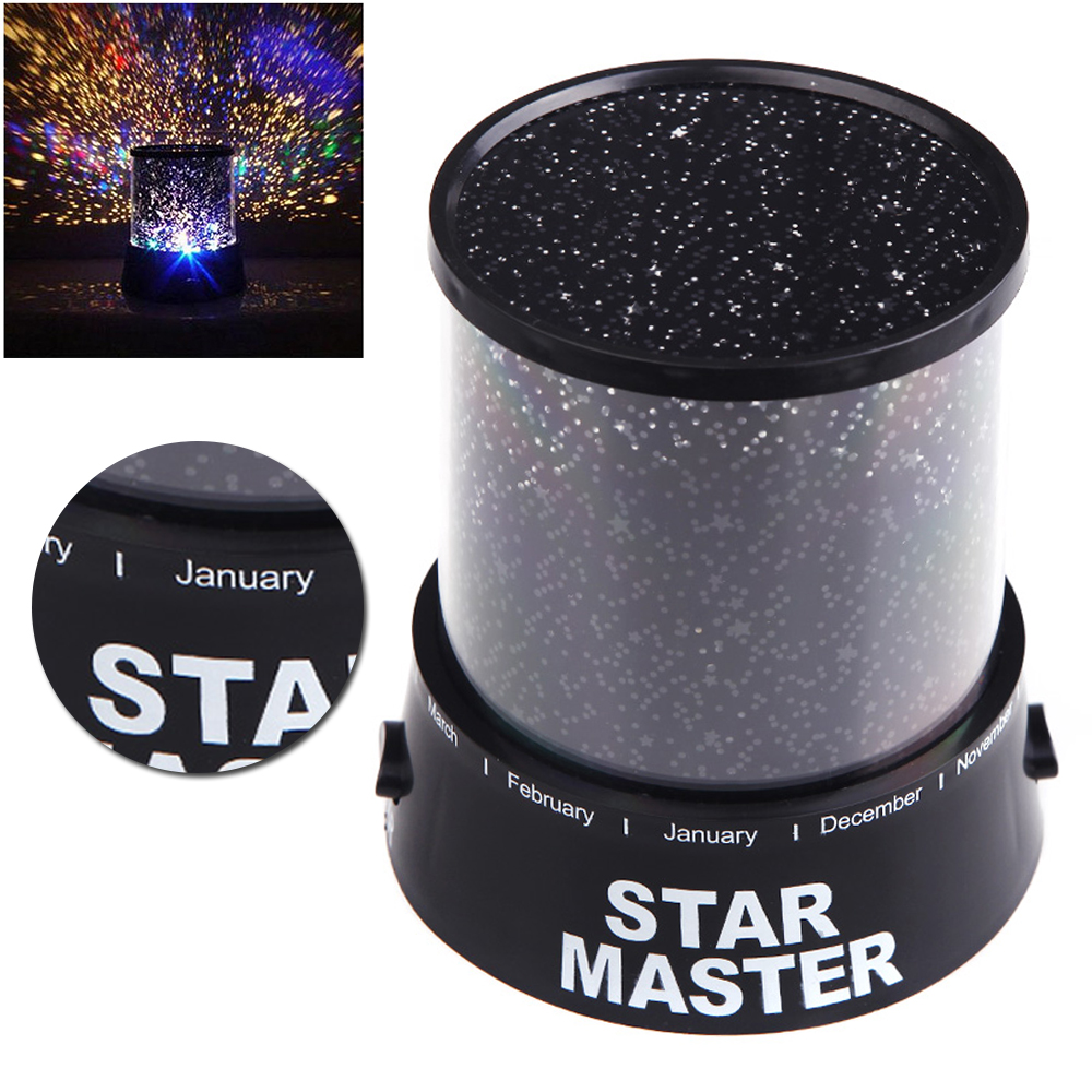 Star projector lamp night - New Star Sky Projection Lamp Kids Baby Sleep Led Night Light Projector Decoration For Child Light