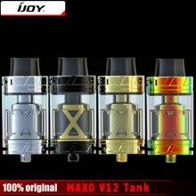 Original IJOY MAXO V12 Tank 5.6ml Option V12-RT6 Deck XL-C4 Coil Electronic Cigarette Atomizer Vaporizer for IJOY Box Mod Vape