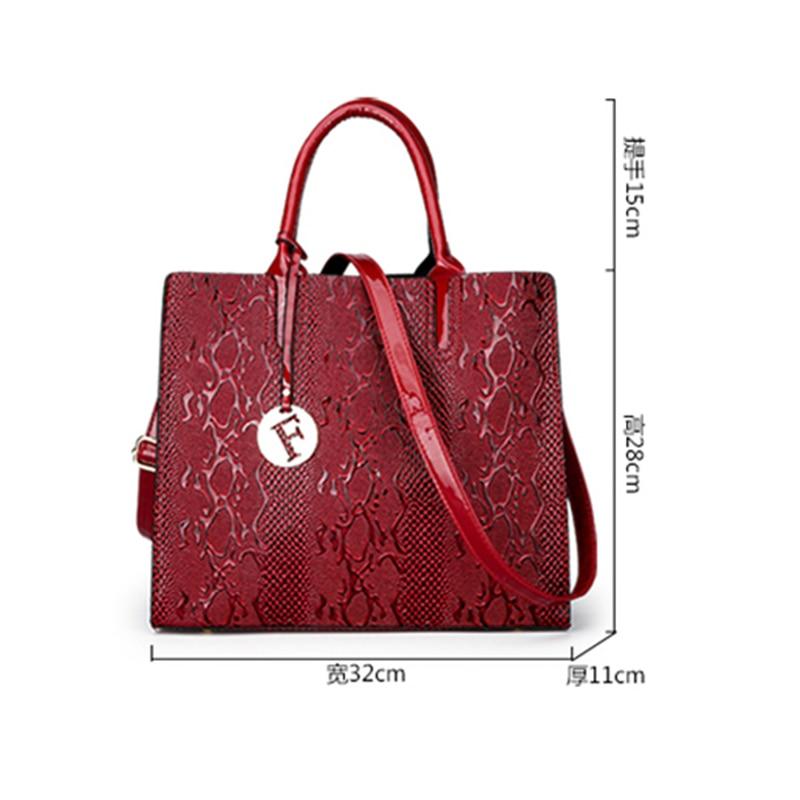 빈티지 대용량 여성 핸드백 캐주얼 토트 레이디 숄더 가방 뜨거운 판매 여성 메신저 가방 지갑 빠른 배송-에서숄더 백부터 수화물 & 가방 의  그룹 3