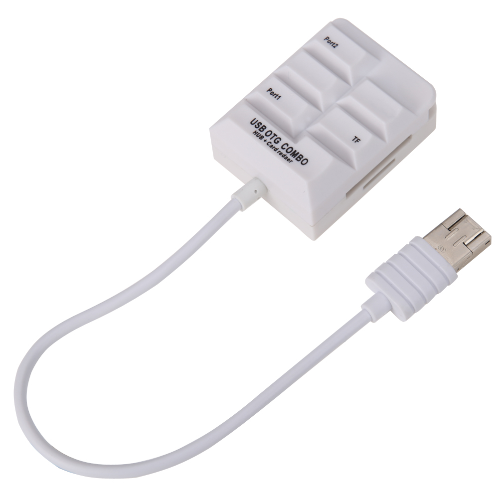 USB 3.1 HUB Combo SD TF Memory Card Reader OTG Type-C Male Adapter 10Gpb/s for Macbook
