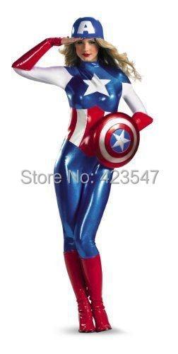 The Avengers Captain America Deluxe Dream Adult Female Costume
