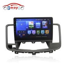 """Бесплатная доставка 10.2 """"Car радио для Nissan Teana 2008 Android 6.0 dvd-плеер с Bluetooth, GPS Navi, МЖК, wifi, Зеркало Ссылка, DVR"""